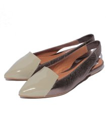 INTER-CHAUSSURES IMPORT/【ABOVE AND BEYOND】ポインテッドトウバックバンドシューズ/500200081