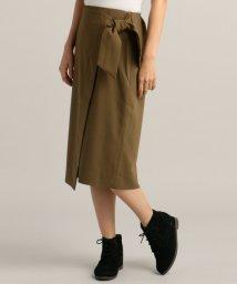 Ray Cassin /ウエストリボンラップ風スカート/500211876