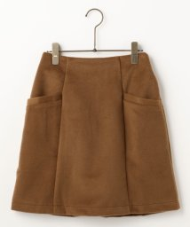 Ray Cassin /シャギー台形スカート/500212160