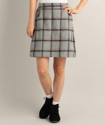 Ray Cassin /チェック柄台形スカート/500212162