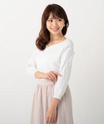 MISCH MASCH/【Ray5月号掲載】袖刺繍ニット/500217990