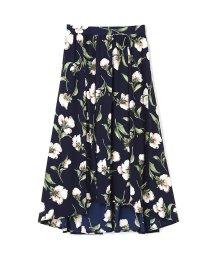PROPORTION BODY DRESSING/《BLANCHIC》フラワージョーゼットスカート/500218320