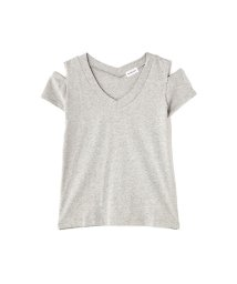 PROPORTION BODY DRESSING/《BLANCHIC》コットンTシャツVネック/500218326