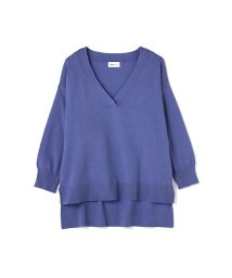 PROPORTION BODY DRESSING/《BLANCHIC》ルーズ7分袖Vニット/500218331