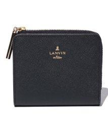 LANVIN en Bleu(BAG)/リュクサンブール 2つ折り財布 Lファスナー/LB0003758