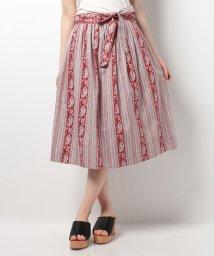 OLD ENGLAND/LESOLIVADES BANDESBONIS スカート/500078553