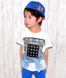 ANAP KIDS/ペイズリーTシャツ/500191946
