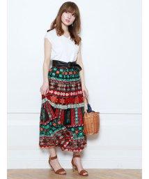 Mystrada/ネイティブ刺繍スカート/500222524