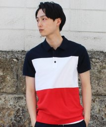 TOMMY HILFIGER MENS/フラッグストライプポロシャツ/500172730
