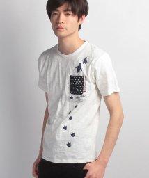 JNSJNM/【BLUE STANDARD】ペンギンプリントボケットTシャツ/500194084