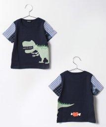 kladskap/恐竜プリント半袖Tシャツ/500205523