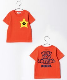 X-girl Stages/キラッキーポケット半袖Tシャツ/500205573