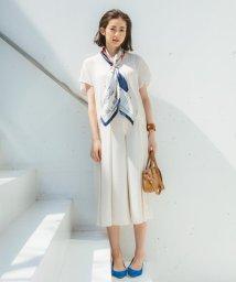 JIYU-KU /【WEB限定カラー有・洗える】クレールサテン ワイドパンツ/500223621