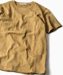 "SHIPS MEN/SC: ""MADE IN JAPAN"" モチーフ ジャガード ポケット Tシャツ/500223663"