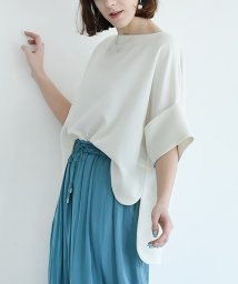 marjour/[VERY4月号掲載]【Made in JAPAN】厚手ジョーゼットトップス/500226262