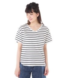 NATURAL BEAUTY BASIC/ボーダーTシャツ/500226827