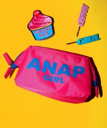 ANAP GiRL/ロゴ小金入ポーチ/500206266