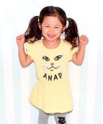 ANAP KIDS/キャットフェイスワンピース/500206276