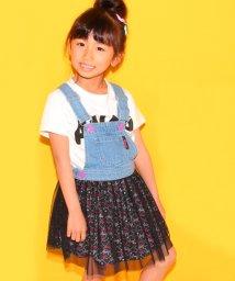 ANAP KIDS/チュール切替ジャンパースカート/500210174