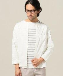 ivory court/スーピマポンチカットシャツ/500227875