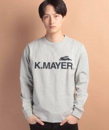KRIFF MAYER/TOUGHTEE長袖スウェットロゴ/500204022