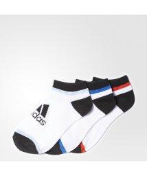 adidas/アディダス/キッズ/KIDS 3P アンクルソックス/500233775