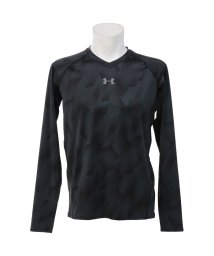 UNDER ARMOUR/アンダーアーマー/メンズ/UA HEATGEAR ARMOUR FITTED LS V−NECK NOVELTY/500234706