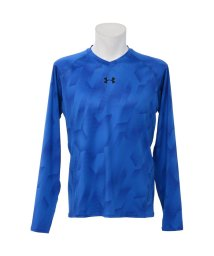 UNDER ARMOUR/アンダーアーマー/メンズ/UA HEATGEAR ARMOUR FITTED LS V-NECK NOVELTY/500234708