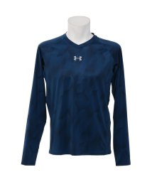 UNDER ARMOUR/アンダーアーマー/メンズ/UA HEATGEAR ARMOUR FITTED LS V-NECK NOVELTY/500234709