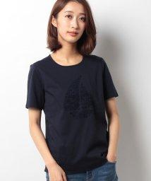 Leilian/刺繍モチーフTシャツ/10251605N