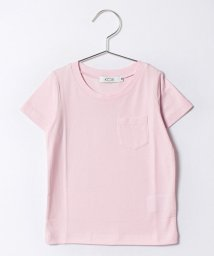 KOE/クルーネック胸ポケット半袖Tシャツ/500216510