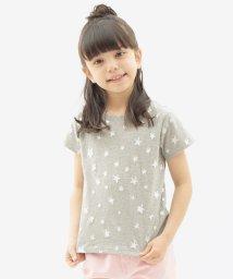 KOE/メタルスタープリント半袖Tシャツ/500216511
