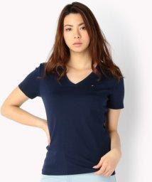 TOMMY HILFIGER WOMEN/ベーシックVネックTシャツ/500219434