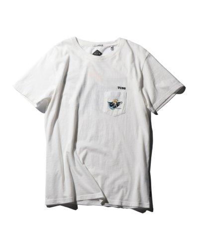 ([T.C.S.S])サーフィンモチーフTシャツ