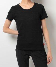 Alpine DESIGN/アルパインデザイン/レディス/胸ポケットTシャツ ジャガード/500238304