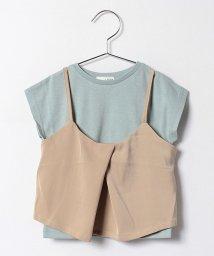 b-ROOM/Tシャツ×キャミセット/500224631