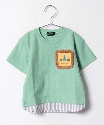 kladskap/ライオンフリンジポケット半袖Tシャツ/500224660