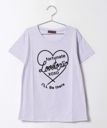 Lovetoxic/ハート×ロゴプリントTシャツ/500224736