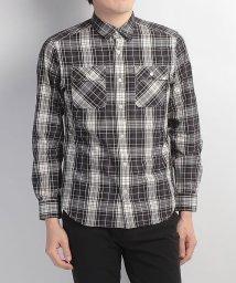 Alpine DESIGN/アルパインデザイン/メンズ/長袖チェックシャツ/500240622