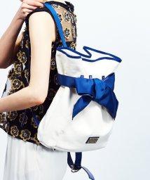 LANVIN en Bleu/【予約商品】キャンバスリボンリュック/LB0003814
