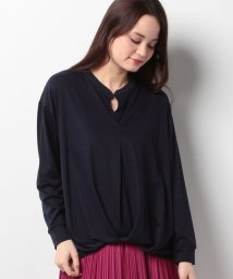 Doux archives /【OP限定価格】スキッパーカットブラウス/500222285