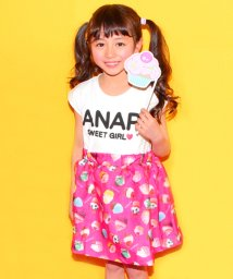 ANAP KIDS/3Dシアー切替ワンピース/500222681