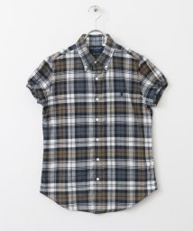 URBAN RESEARCH DOORS/GYMPHLEX MADRAS CHECK S/S SHIRTS/500247165