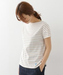 URBAN RESEARCH DOORS/ORCIVAL 40/2 STRIPE S/S T−SHIRTS/500247171
