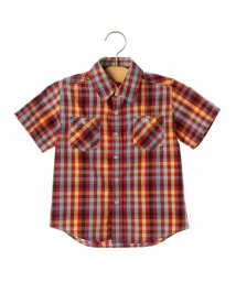 SHIPS KIDS/SHIPS KIDS:ワッシャー チェック シャツ(100〜130cm)/500247949