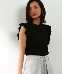 ROPE' mademoiselle/《予約》【WEB限定】フリルニットプルオーバー/500248568