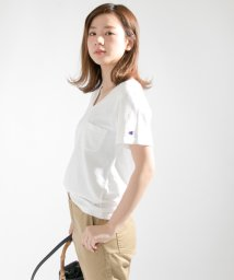 URBAN RESEARCH/Champion×URBAN RESEARCH 別注VネックTシャツ/500249181