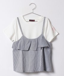 Lovetoxic/フレアキャミソール×ロゴ刺しゅう入りTシャツセット/500224728