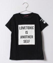 Lovetoxic/ボックスロゴプリントTシャツ/500224732