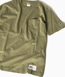 SHIPS MEN/RUSSEL ATHLETIC(ラッセル・アスレチック)×SHIPS: 別注 ユーズド加工 Tシャツ/500249621